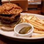 Island Burgers - こちらがセットです