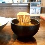 こにし - こにし@鶴ヶ峰 つけそば 麺リフト