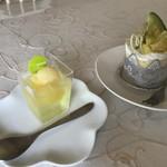 和洋スイーツカフェ 扇屋製菓 - 料理写真: