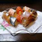 のり巻小町 - じゃがいもたまごの手綱寿司