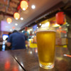 Shirokiya Japan Village Walk - ドリンク写真:1ドルビール。