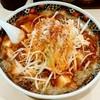麺屋 忍 - 料理写真:麺屋 忍@新潟 背脂マーボー麺・長ネギ(750円+110円)