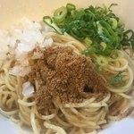 麺や でこ - 生姜の和え玉200円