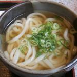 麺楽 - ミニうどん