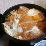 麺楽 - カツ丼