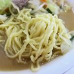 東新軒 - 麺(大盛))