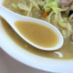 東新軒 - スープ