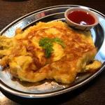 タイ東北モーラム酒店 - 豚挽肉のタイ風オムレツ