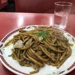 江洋軒 - 焼きそばは、もっと極太(2018.7.29)