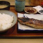 魚玉 - いわし塩焼定食