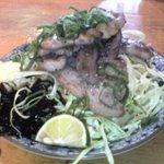 里のうどん 石川店 - 塩バラ。こっちもお勧め。