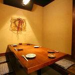 朝引き鶏と焼酎 ぼっけもん - 個室