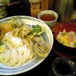 """900736 - """"野菜天ぶっかけ""""と""""ミニちらし寿司"""""""