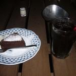 ミンガスコーヒー - ケーキセット(ショコラ)