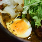 札幌ドミニカ - 特選野菜カリー+ハンバーグ@税込1,400円