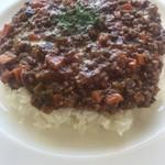 カフェ ハナ - 料理写真:8種の野菜のドライカレー