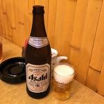 三進 - 瓶ビール@500円
