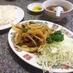 90005984 - ジンギスカン定食(700円)