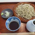 そば切り なかむら - セイロ蕎麦 750円