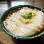 旅館 大岩館 - 料理写真:大岩素麺