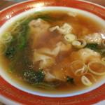広州市場 - 定食の雲呑麺