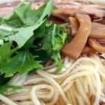 自家製麺しゅん作 - 稲庭うどんみたいな麺