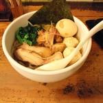 鶏の穴 - 2011年8月限定麺 冷 鶏づくし