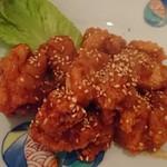スパイステーブル - 桜島鶏の唐揚げ(ヤムニョム)