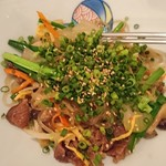 スパイステーブル - 旬野菜と韓国春雨のチャプチェ