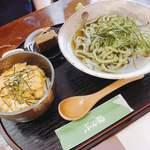 銀の茶房 ぶん福 - ころうどんセット(+ミニ玉子丼)