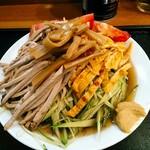 大勝軒 - 自家製スープ 冷し中華 1080円(税込)