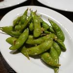 ピグボッテ - 枝豆のペペロンチーノ