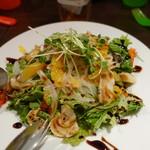 ピグボッテ - つぶ貝と柑橘のさっぱりサラダ