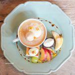 コマグラ カフェ - デザートプレート
