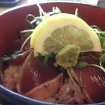 箕面ゴルフ倶楽部レストラン - 料理写真:カツオの手ごね寿司