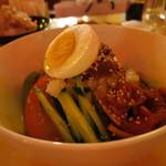 90015099 - ビビン冷麺(別角度から)(2017年7月)