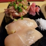 中目黒よだきんぼ - 鳥刺しの寿司