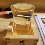 中目黒よだきんぼ - 日本酒(種類忘れました…)