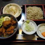 尾張屋 - 料理写真:から揚げ丼セット