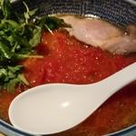 麺部しば盛 - 料理写真:本日の限定メニューからしおトマトらーめん850円