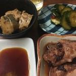 石松 - 「石松定食」の小鉢