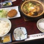 寿司辰 - 料理写真:みそ煮込定食  1,180円