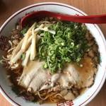 尾道ラーメン 麺や 一六 - 料理写真:尾道ラーメン大盛り+ネギ盛