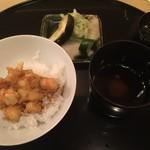 清壽 - かき揚げ丼