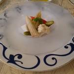 レストラン シェ・リュイ - ギリシャ風野菜のマリネ