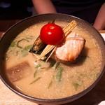 佐野みそ - 冷汁の魚