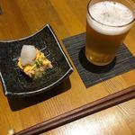 90025813 - お通し、桜海老の卵とじ