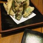 90025829 - 鱧と梅肉の天ぷら