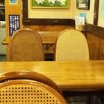 さぬき手打ちうどん 銭形 - テーブル席