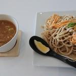 らぁ麺ダイニング カルム - チーズつけ麺